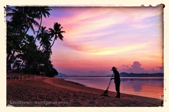 Sunrise in Phuket, Thailand
