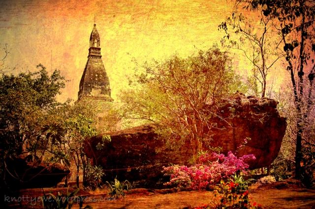 Wat Phra Phutthabat Bua Bo near Udon Thani.