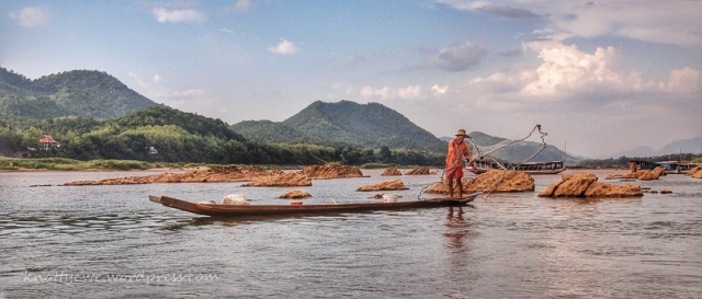 Fishing in Luang Prabang